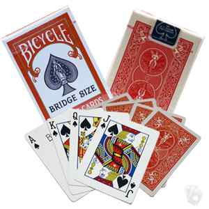 Bicycle BRIDGE Size cards - Standard Index